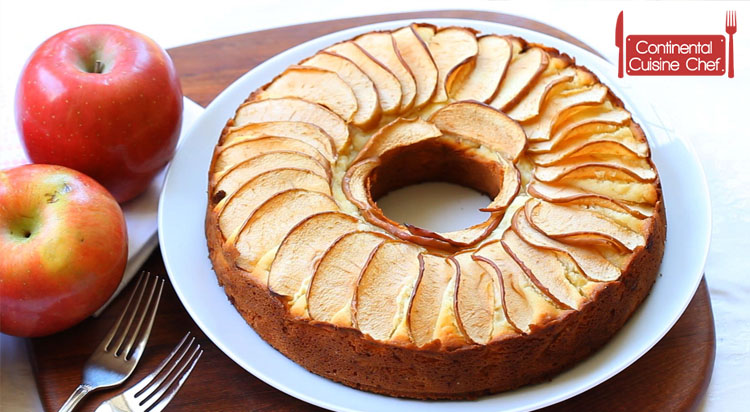 Apple Cake Recipe with Fresh Apples
