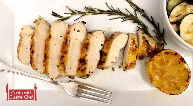 Grilled Chicken Breast with Nutrition