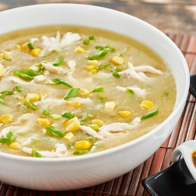 SWEET CORN CHICKEN SOUP RECIPE