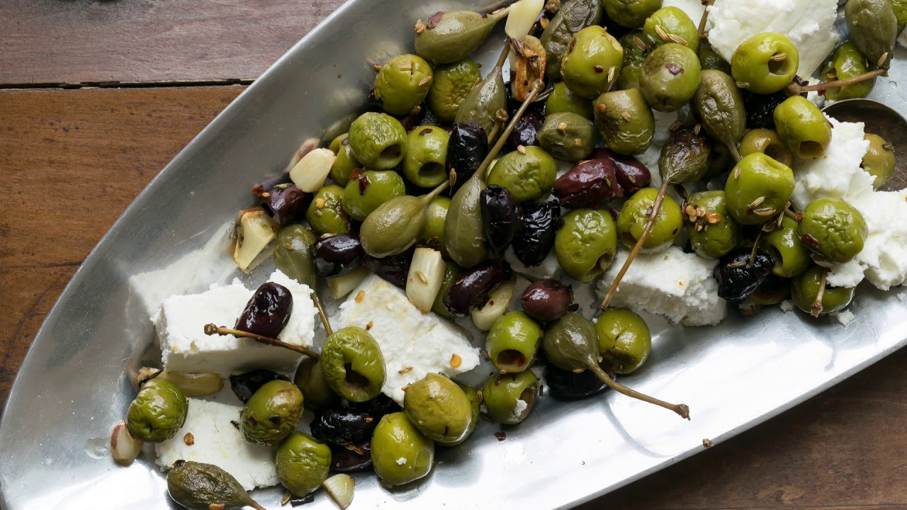 BAKED CHEESE OLIVES