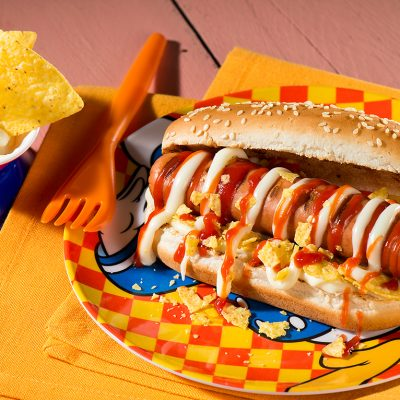 Grilled Cheese Hot Dog