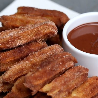 baked churros recipe