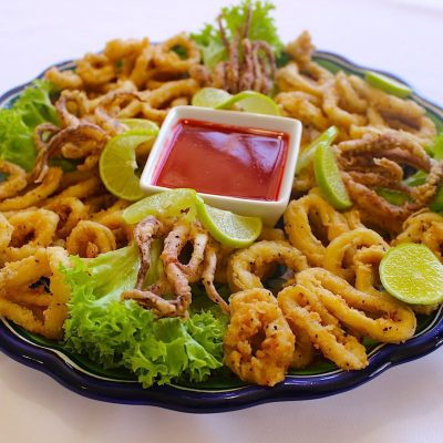 Calamari Rings recipe