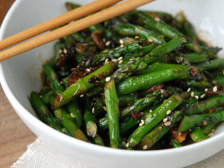 VEGETABLES WITH BLACK BEAN SAUCE