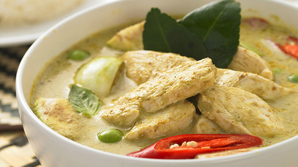 SPICY THAI GREEN CHICKEN CURRY